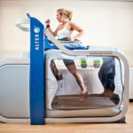 The AlterG treadmill.